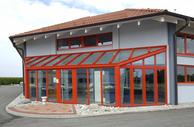Terrassenüberdachung von Bölsche Glas und Bauelemente