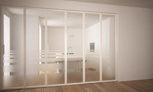 Küchentür aus Glas